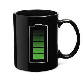 Thermal Battery Mug, fab.com $19