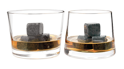 Whiskey Stones & Gift Set - uncommongoods.com $20-$60