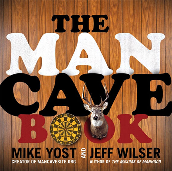 The Man Cave Book, amazon.com $10
