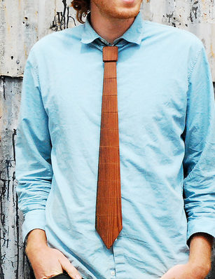 The Wooden Necktie, uncommongoods.com $36