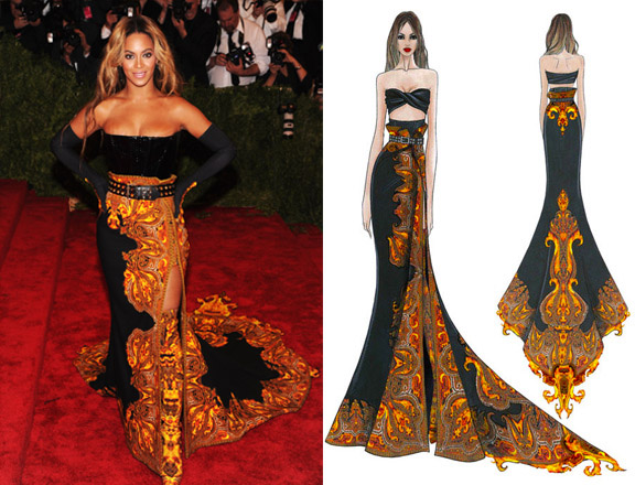Photo Credit: (right) Getty Images/ Jaime McCarthy (left) Beyonce's Tumblr