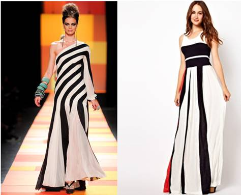 Photo Credit: (left) Jean Paul Gaultier style.com (right) asos.com