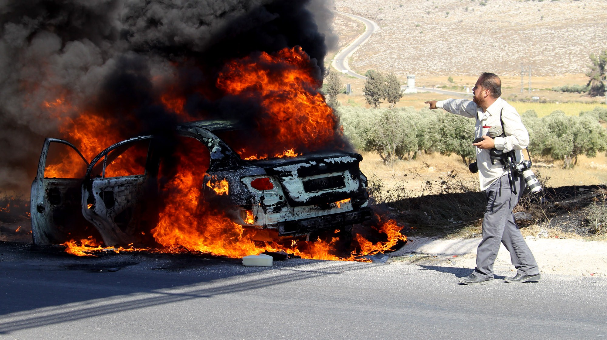 Best Fiero impression goes to THAT car! (Photo credit should read -/AFP/Getty Images)