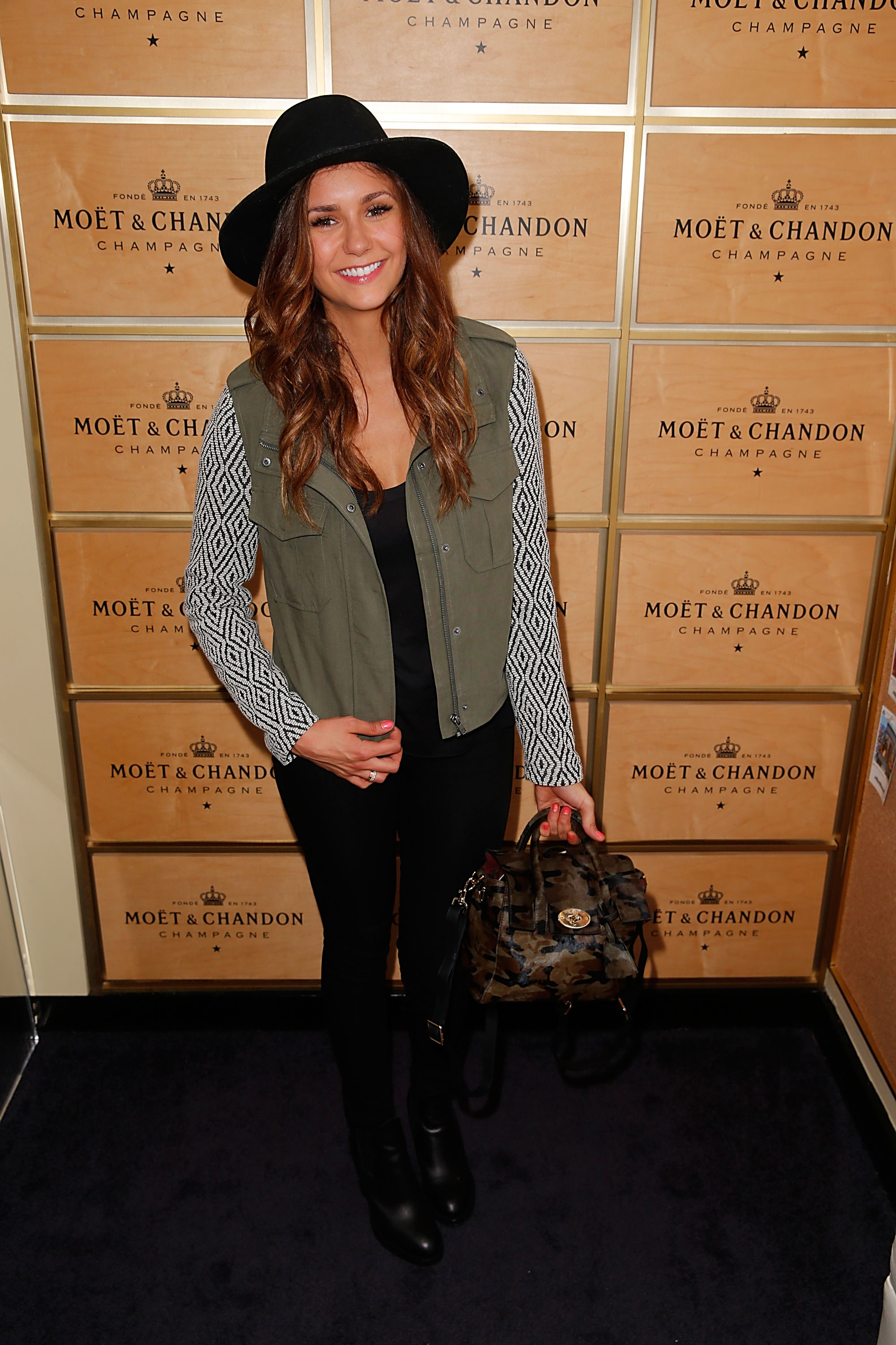 (Photo by Joe Scarnici/Getty Images for Moet & Chandon)